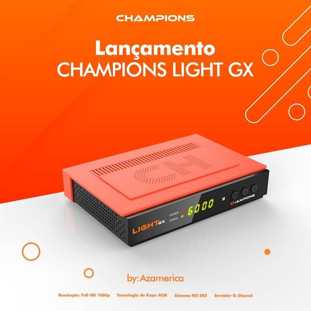 AZAMERICA CHAMPIONS LIGHT GX NOVA ATUALIZAÇÃO V1.11 - 10/09/2021