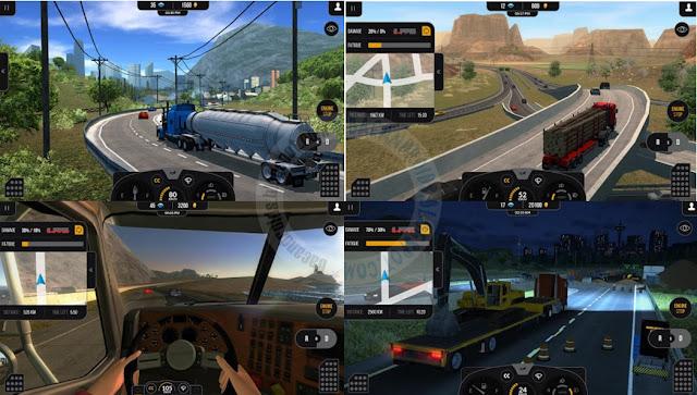 Truck SimulatorPro 2 Apk Data free Android