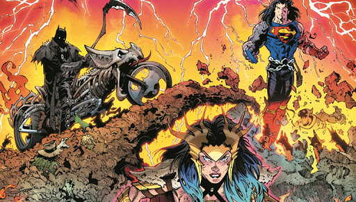 El universo de DC Comics: dark nights: death metal #1