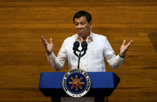 Philippine President Rodrigo Duterte warns of 'revolutionary government'
