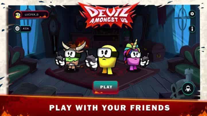 Devil Amongst Us v1.08.0 MOD, Mega Menu - Game hành động cho điện thoại