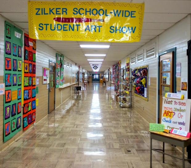Zilker Elementary Art Class Zilker' 2014 School-wide