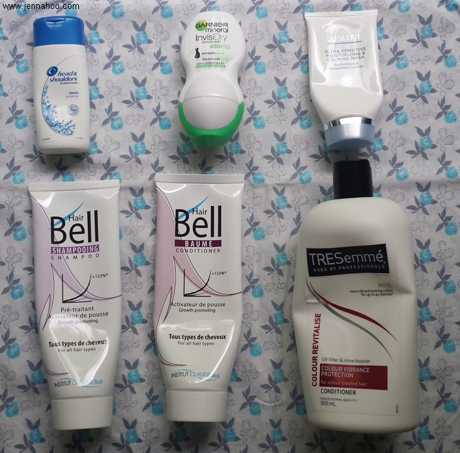 July 2016 Empties