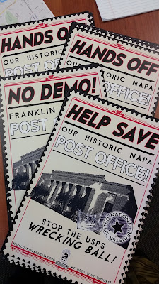 Save the Historic Napa Post Office