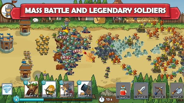 Clash of Legions Kingdom Rise Hileli Apk - Altın Hileli Apk v1.242