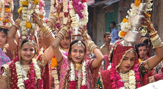 Gangaur festival is one of the most famous and cherished festival in Rajasthan