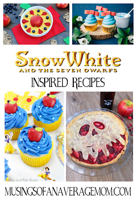 snow white inspired recipes