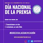 Colegio de Periodistas conmemora el Día de la Prensa con actividades en todo Chile