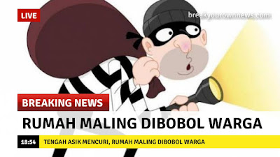 Cara membuat meme breaking news