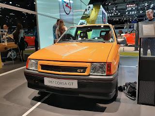 1987 Opel Corsa in Frankfurt IAA