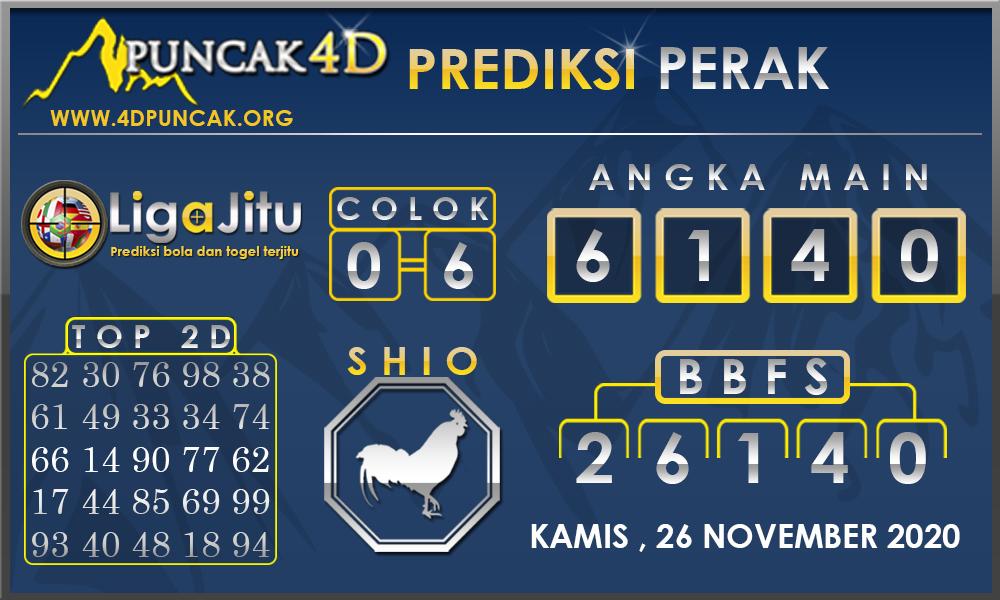 PREDIKSI TOGEL PERAK PUNCAK4D 26 NOVEMBER 2020