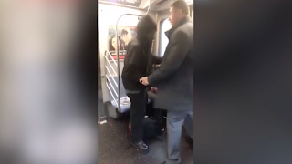 Subway rider: I asked manspreader to stop, so he punched me in the face