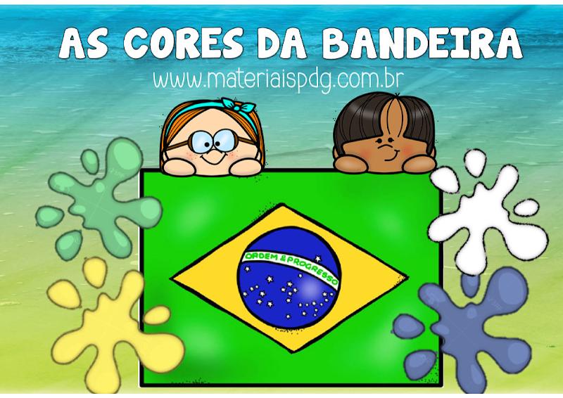 AS CORES DA BANDEIRA