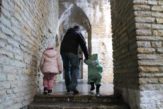 Rakvere, linnanrauniot lasten kanssa