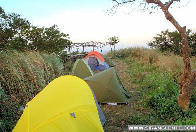 Mt. Maculot campsite