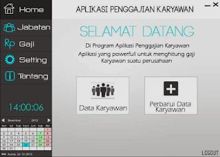 Download Source Code Aplikasi Sistem Penggajian Karyawan Menggunakan Java Netbeans
