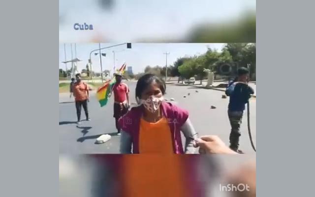 Masista desaforada pidió la cabeza y los huevos del ministro de Gobierno, Arturo Murillo