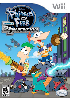 Phineas and Ferb: Across the Second Dimension Wii Game