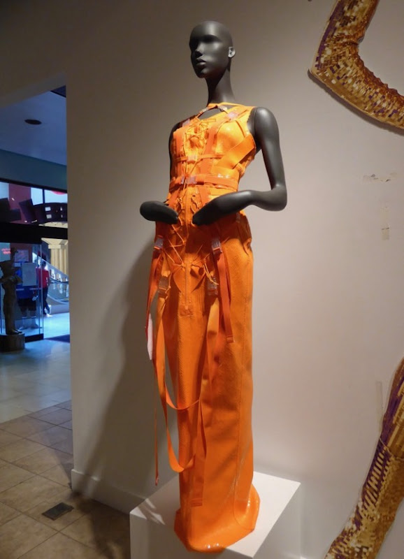 RuPauls Drag Race season 5 orange gown