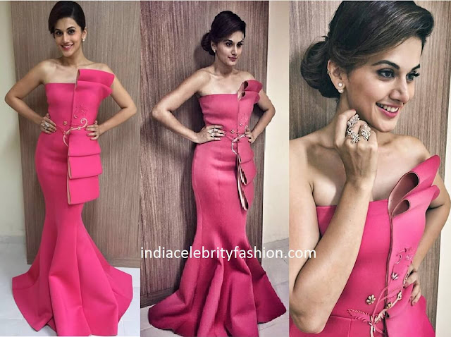 Taapsee Pannu in Tanieya Khanuja for vanitha film awards 2016
