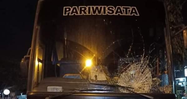 Kecelakaan Bus dan Motor Ninja di Margorejo Pati, Renggut Satu Korban Jiwa