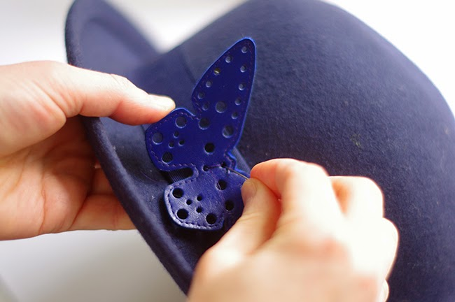 DIY Leather Butterfly Tutorial