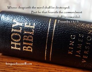 Proverbs 13:13