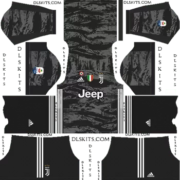 Download Kit DLS Juventus GoalKeeper Home 2019 - 2020