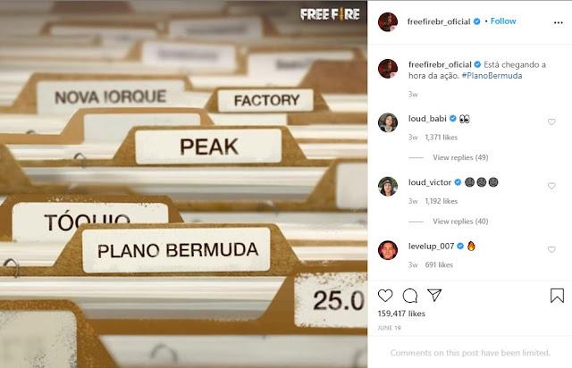 Plan Bermuda Free Fire Akan Seperti Apa ?