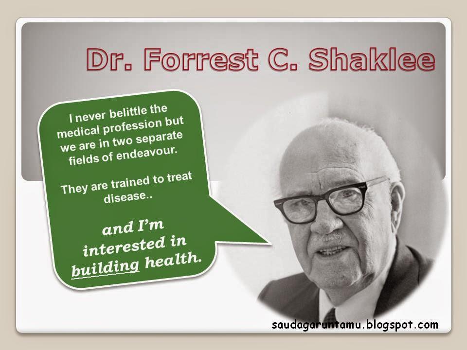 Shaklee Founder