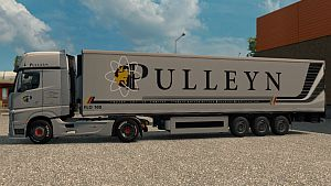 Pulleyn Skin for Mercedes MP4 + trailer