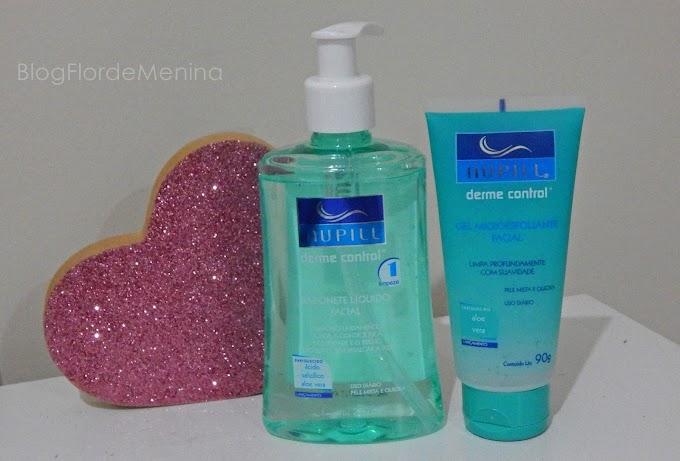Sabonete Facial Líquido e Gel Microesfoliante - Nupill Derme control