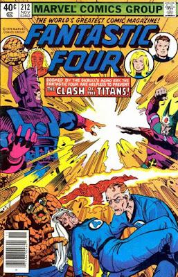 Fantastic Four #212, Galactus v the Sphinx