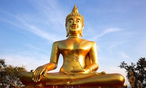بودا های مقدس در تایلند