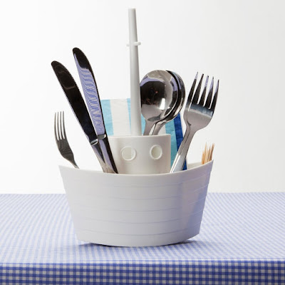 Dinner Boat Cutlery Holder