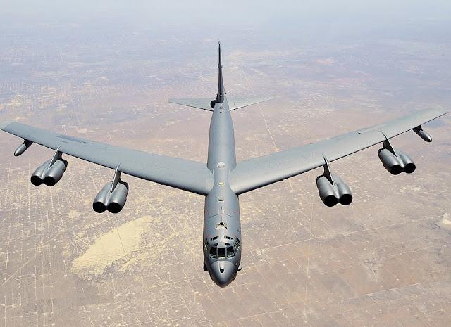 US Fly Again B-52 Bombers Near South China Sea Territory