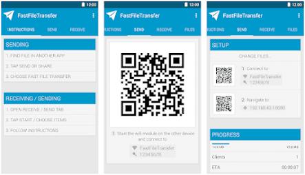 Aplikasi transfer file - 2