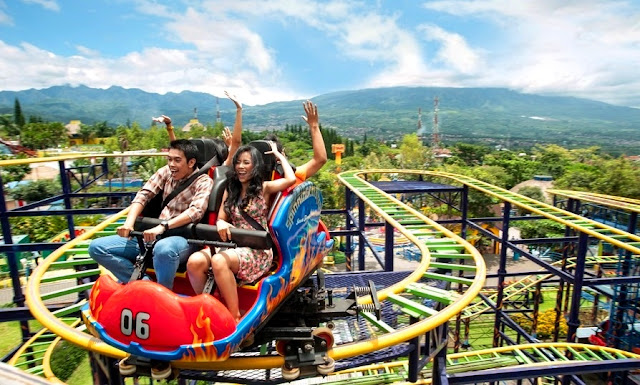 Wahana Spinning Coaster Jatim Park