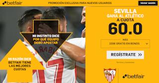 betfair supercuota Sevilla gana a Atlético 6 enero 2019
