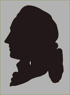 Schattenriss Goethe