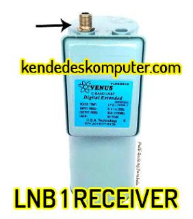 LNB 1 Receiver 1 Satelit, 1 Parabola