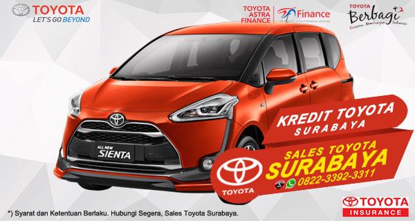 Promo DP Ringan, Paket Kredit Toyota Sienta Surabaya