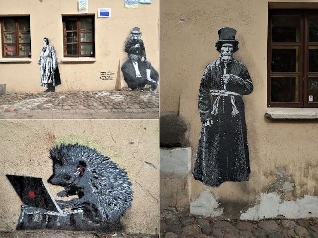 street art a uzupis