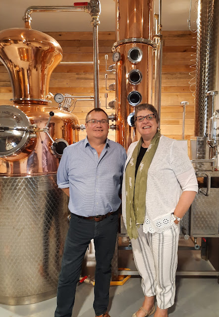 Bond Street Distillery - our gin making day