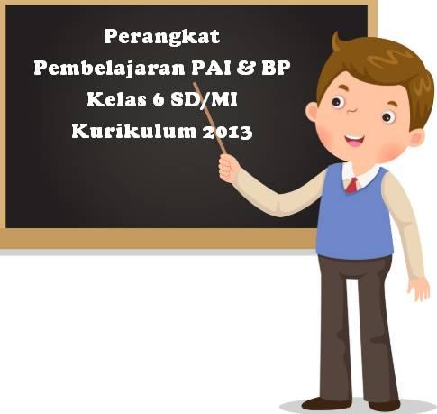 Prota Promes Silabus RPP PAI Kelas 6 SD Kurikulum 2013 Revisi