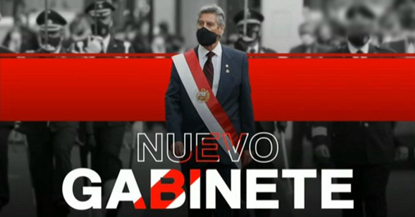 LISTA DE NUEVOS MINISTROS: Juramentó Nuevo Gabinete Violeta Bermúdez Valdivia (18 Noviembre) PCM