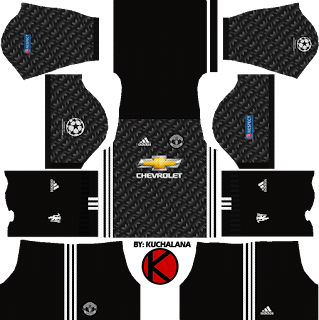 champion league 2017/18  Manchester United Kits