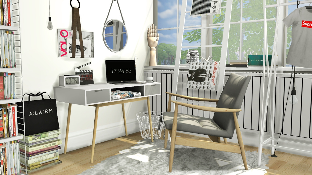 My Sims 4 Blog Office Set And Recolors By Mxims