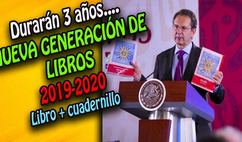 Nueva generación de libros de texto gratuitos   2019-2020