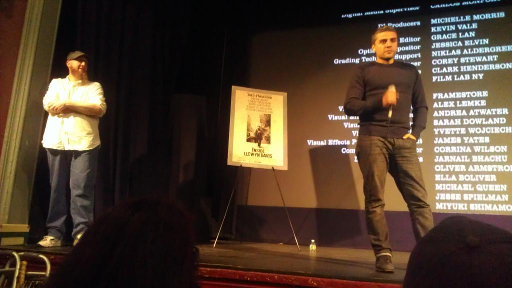 Brian Tamm & Oscar Isaac at the Brattle